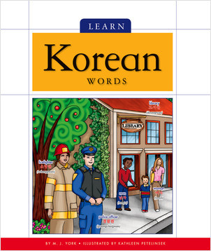 Cover: Learn Korean Words