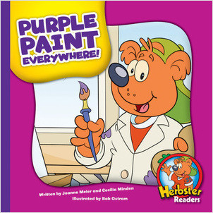 Cover: Purple Paint Everywhere!