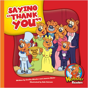 Cover: Saying 'Thank You'