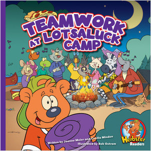 Cover: Teamwork at Lotsaluck Camp: A Storytime Book