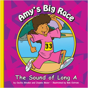 Cover: Amy's Big Race: The Sound of Long A