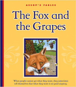 Cover: The Fox and the Grapes