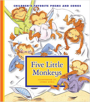 Cover: Five Little Monkeys