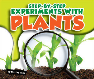 Cover: Step-by-Step Experiments with Plants