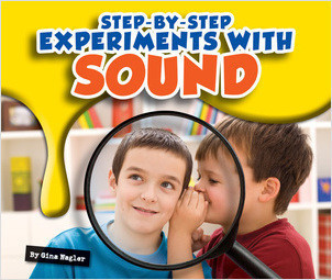 Cover: Step-by-Step Experiments with Sound