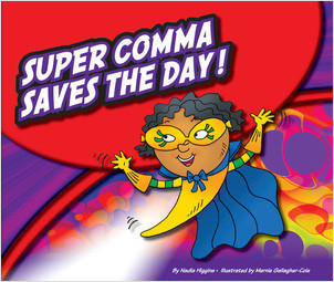 Cover: Super Comma Saves the Day!