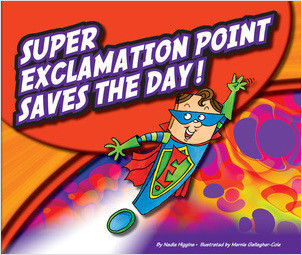 Cover: Super Exclamation Point Saves the Day!