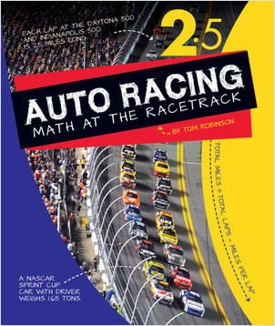 Cover: Auto Racing: Math at the Racetrack