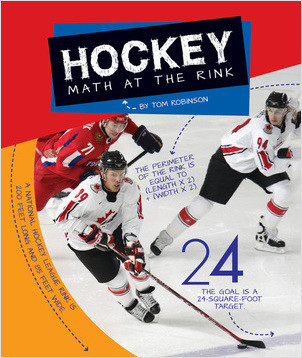 Cover: Hockey: Math at the Rink