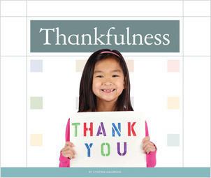 Cover: Thankfulness