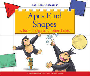 Cover: Apes Find Shapes: A Book about Recognizing Shapes