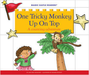 Cover: One Tricky Monkey Up On Top: A Counting Adventure