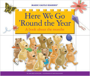 Cover: Here We Go 'Round the Year: A Book about the Months