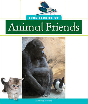 Cover: True Stories of Animal Friends