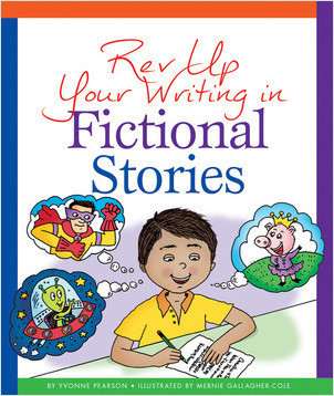Cover: Rev Up Your Writing in Fictional Stories