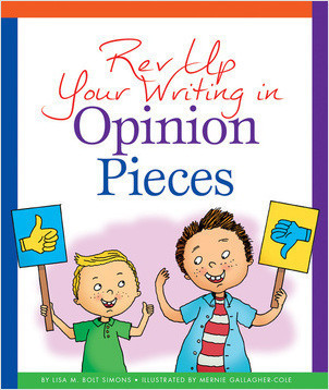 Cover: Rev Up Your Writing in Opinion Pieces