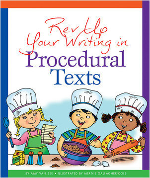 Cover: Rev Up Your Writing in Procedural Texts