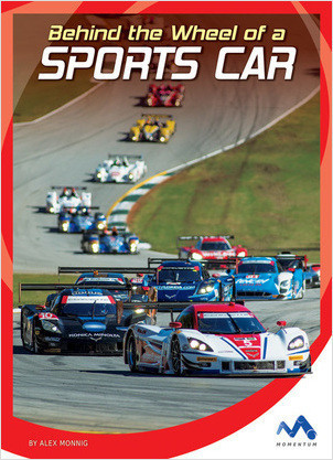 Cover: Behind the Wheel of a Sports Car