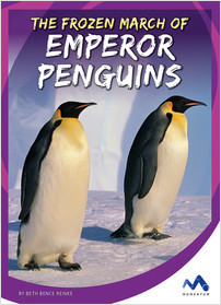 Cover: The Frozen March of Emperor Penguins