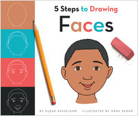 Cover: 5 Steps to Drawing Faces