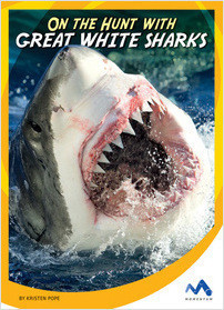 Cover: On the Hunt with Great White Sharks