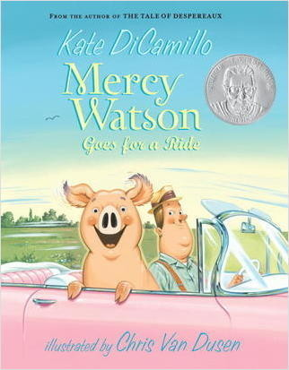 Cover: Mercy Watson Goes For A Ride