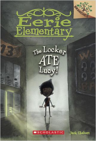 Cover: The Locker Ate Lucy!