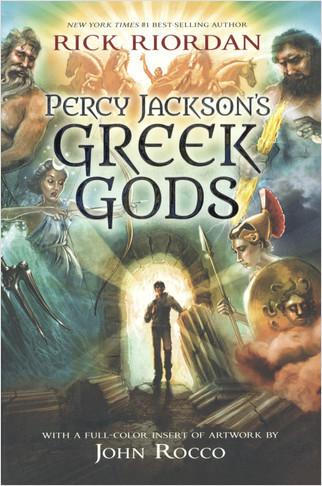 Cover: Percy Jackson's Greek Gods