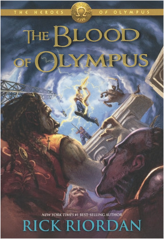 Cover: The Blood Of Olympus