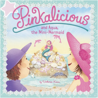 Cover: Pinkalicious And Aqua, The Mini-Mermaid