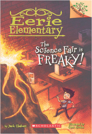 Cover: The Science Fair Is Freaky!