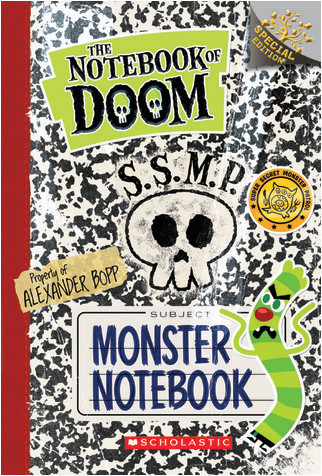 Cover: Monster Notebook