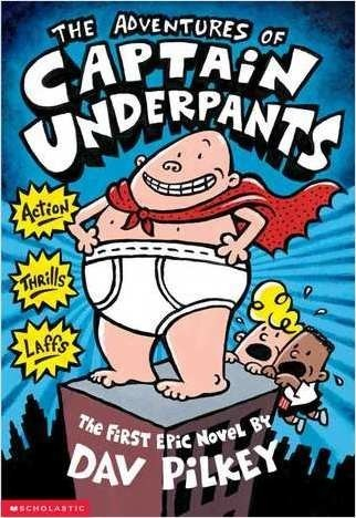 Cover: The Adventures Of Captain Underpants