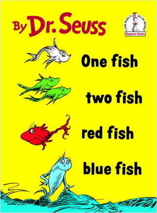 Cover: One Fish, Two Fish, Red Fish, Blue Fish
