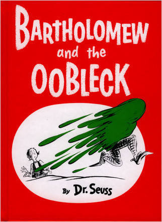 Cover: Bartholomew And The Oobleck