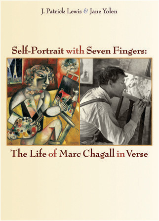 Cover: Self-Portrait With Seven Fingers: The Life of Marc Chagall in Verse