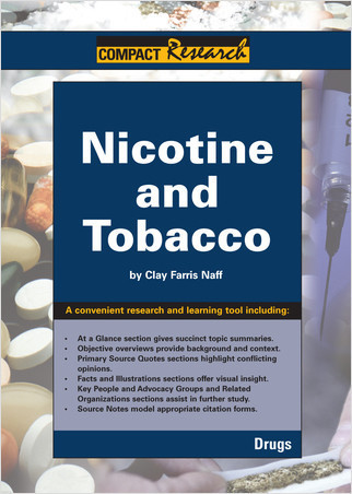 Cover: Nicotine and Tobacco