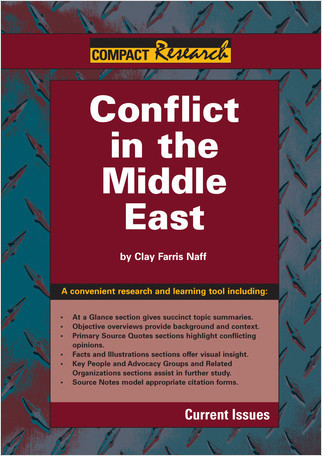 Cover: Conflict in the Middle East