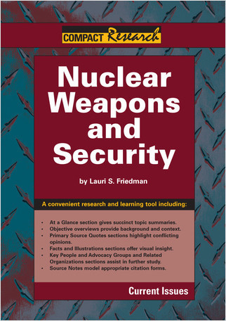 Cover: Nuclear Weapons and Security