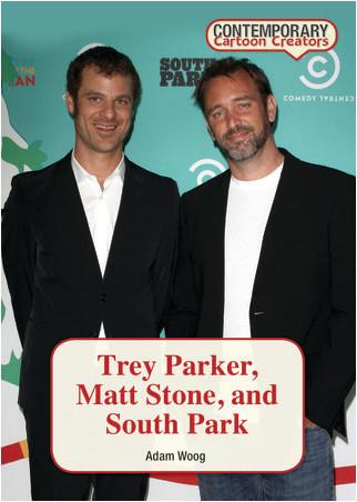 Cover: Trey Parker, Matt Stone, and South Park