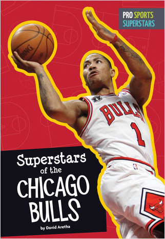 Cover: Superstars of the Chicago Bulls