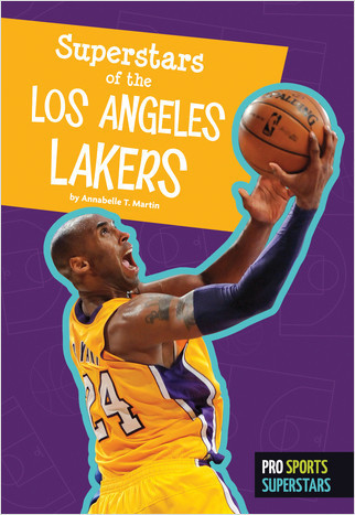 Cover: Superstars of the Los Angeles Lakers