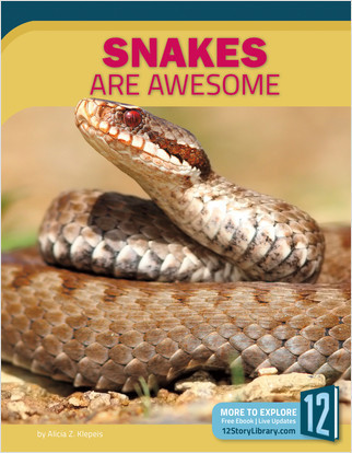 Cover: Snakes Are Awesome