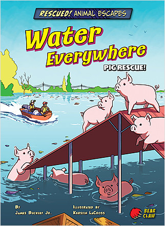 Cover: Water Everywhere: Pig Rescue!
