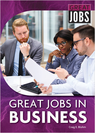 Cover: Great Jobs in Business