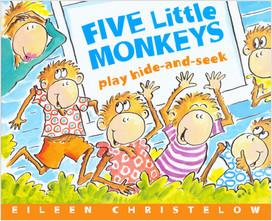 Cover: Five Little Monkeys Play Hide And Seek