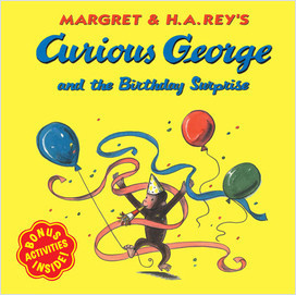 Cover: Curious George 8x8s
