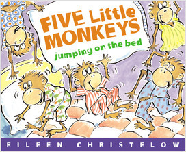 Cover: Five Little Monkeys Jumping On The Bed