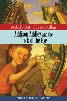 Cover: Addison Addley and the Trick of the Eye