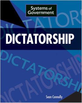 Cover: Dictatorship